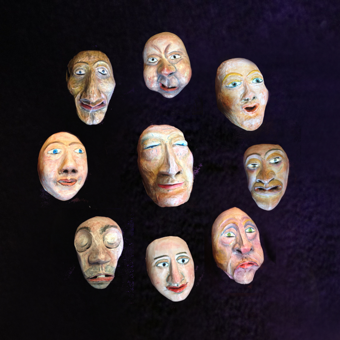 Rondes de masques 9